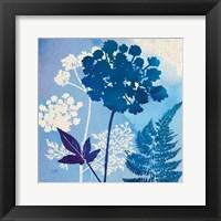 Blue Sky Garden IV Framed Print