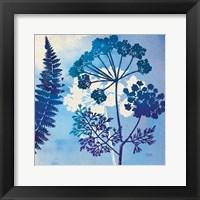 Framed Blue Sky Garden II