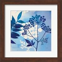 Framed Blue Sky Garden I