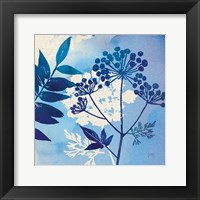 Framed Blue Sky Garden I