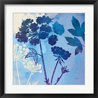 Framed Blue Sky Garden III
