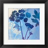 Blue Sky Garden III Framed Print