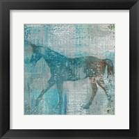 Framed Cheval I