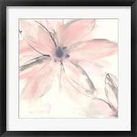 Framed Blush Clematis II