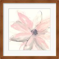 Framed Blush Clematis I
