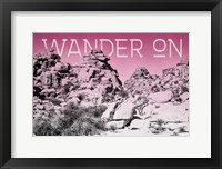 Framed Ombre Adventure IV Wander On