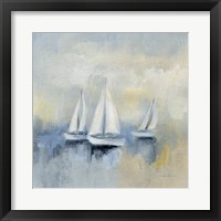 Framed Morning Sail II