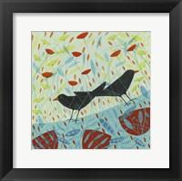 Framed Blackbirds