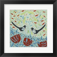 Framed Magpies