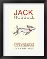 Framed Jack Russell