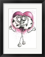 Framed Udderly In Love