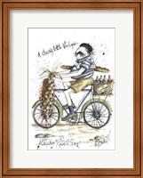 Framed Monsieur Blanc