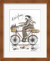 Framed Monsieur Merlot