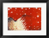Framed Red Fox Card