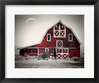 Framed Luna Barn