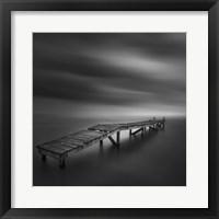 Framed Lonely Dock