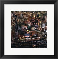 Framed Fishin Man Cave