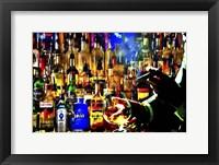 Framed Print Bar Scene