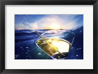 Framed Sailing Martini