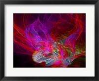 Framed Dragonfire