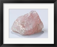 Framed Rose Quartz I