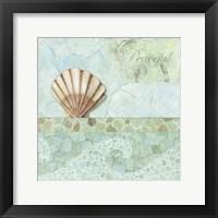 Spa Shells III Framed Print