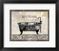 Framed Bath Silhouette I