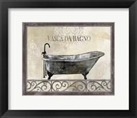 Framed Bath Silhouette IV