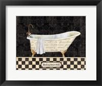Framed French Bathtub II