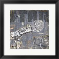 Rock Concert IV Framed Print