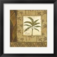 Palmier Tropical I Framed Print