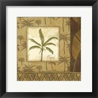 Framed Palmier Tropical II