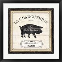Framed French Market I