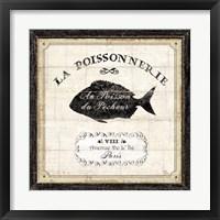 Framed French Market IV