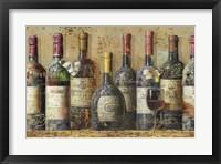 Framed Wine Collection I