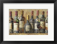 Framed Wine Collection I