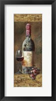 Framed Wine Collection III