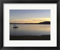 Framed Evening On Champlain