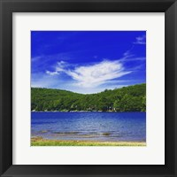 Framed Lake St. Catherine
