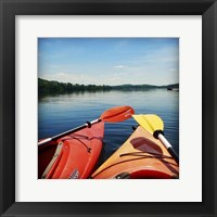 Framed Lake Therapy