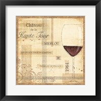 Framed Vin Noble I