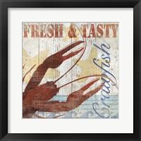 Framed Seafood III