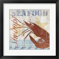 Framed Seafood IV