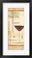 Framed Vin Noble V