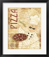 Framed Pizza & Pasta I