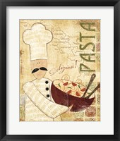 Pizza & Pasta II Framed Print