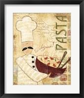 Framed Pizza & Pasta II