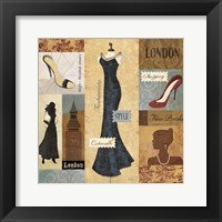 Framed Couture Paris & London II