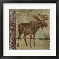 Framed Northern Wildlife II