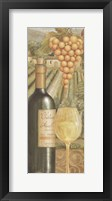 Framed French Vineyard I